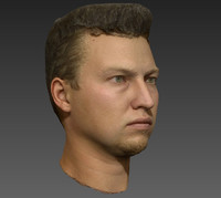 free 3ds mode scan photogrammetry heads human eyes