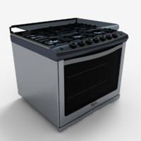 3d model we6250s stove