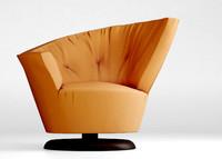 giorgetti arabella armchair 3d model