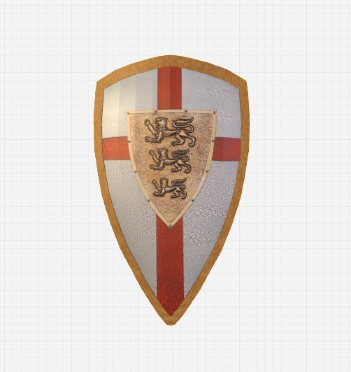 obj knight shield