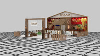 3d fair stand exhibition golda