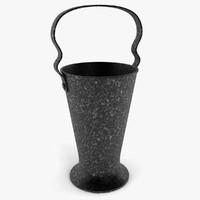 coal bucket 3d model
