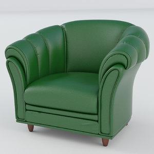 3d office armchair neo model