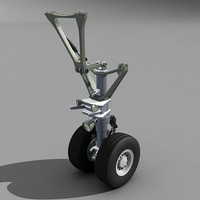 3d nose landing gear