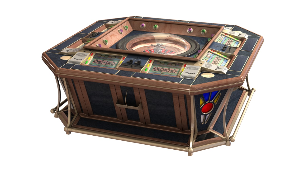 3d model electronic roulette casino 8