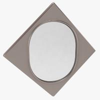 rhomb mirror 3d model