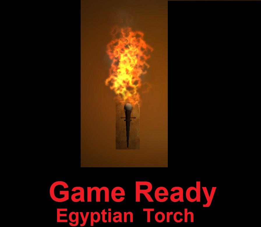 egyptian games 3d model