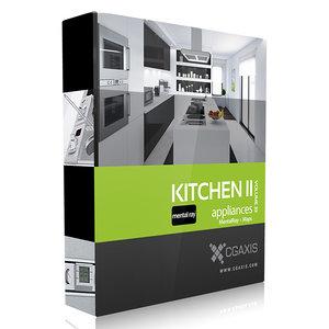 3ds max kitchen