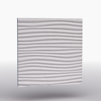 decorative wall panel waves