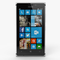 3d model nokia lumia 925