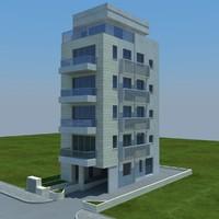 buildings 5 3d max