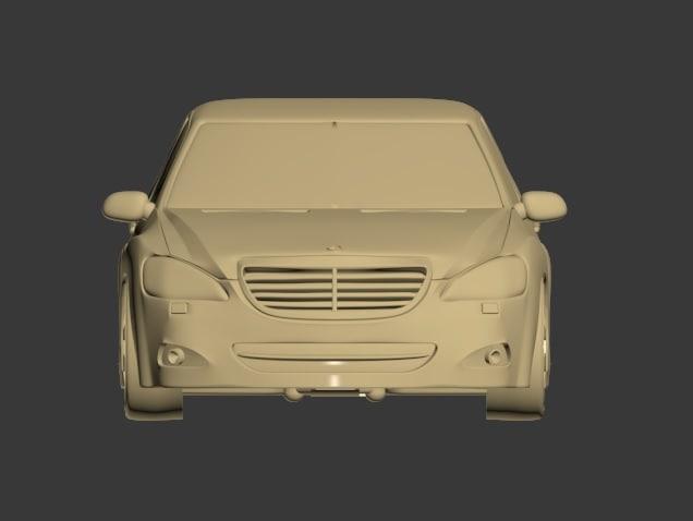 mercedes-benz 3d model