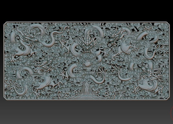 3d dragon! qing dynasty dragon