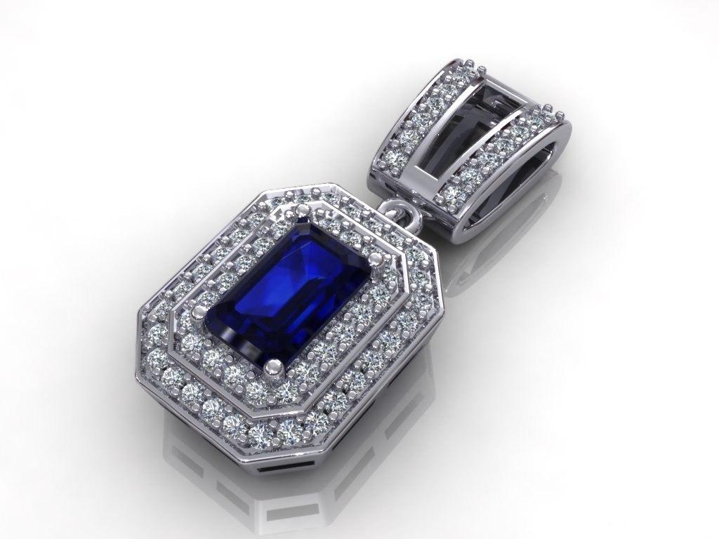 diamond jewelry 3d model