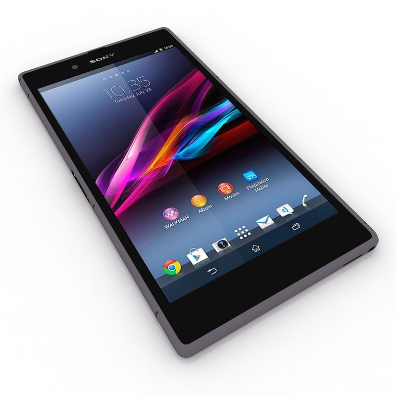 sony xperia z ultra 3d model