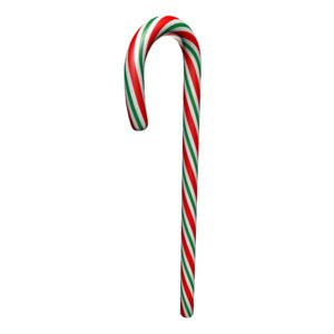 candy cane red green 3d max