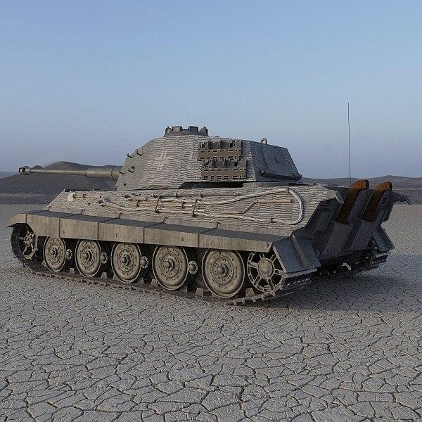 tiger ii german tank ma