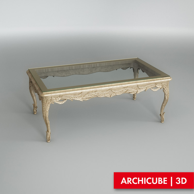 3ds max table silvano grifoni