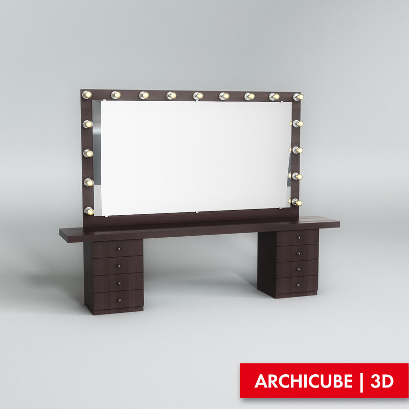 3ds max vanity table