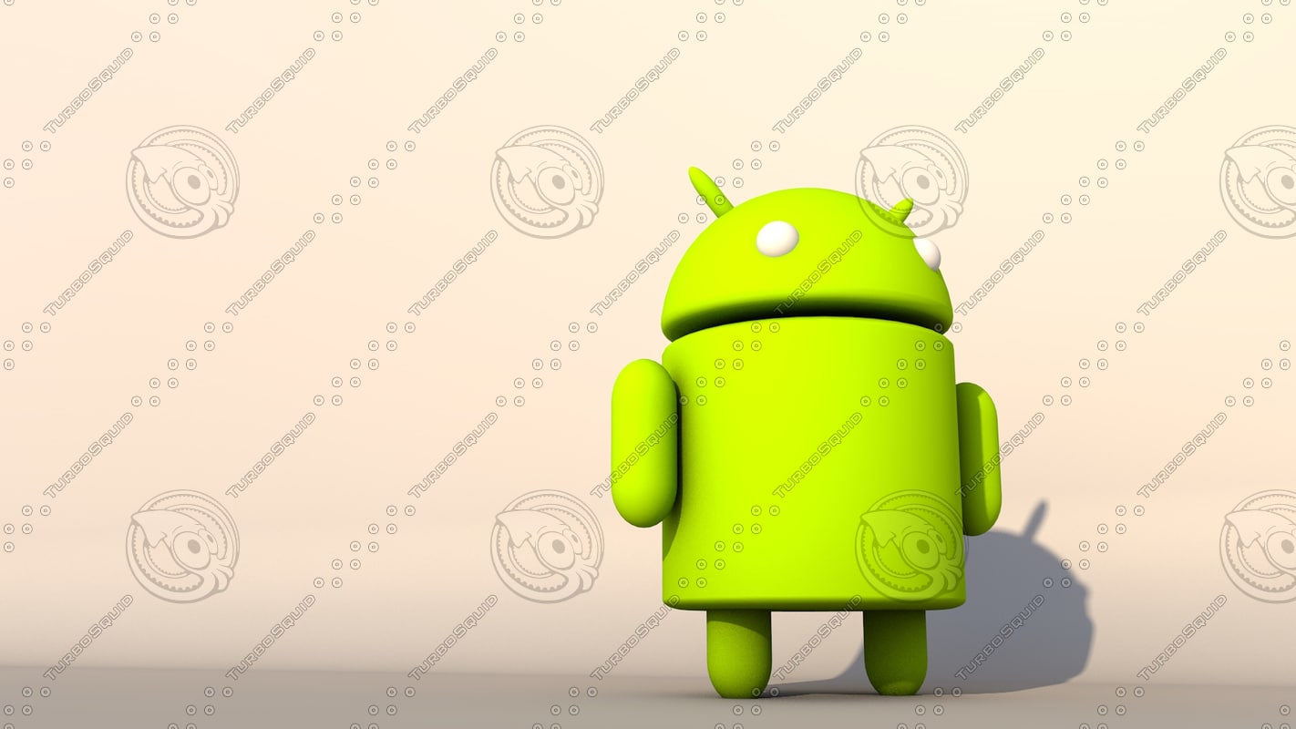 c4d android character