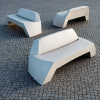 Escofet Bilbao Public Bench