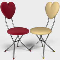 folding chair 3d 3ds