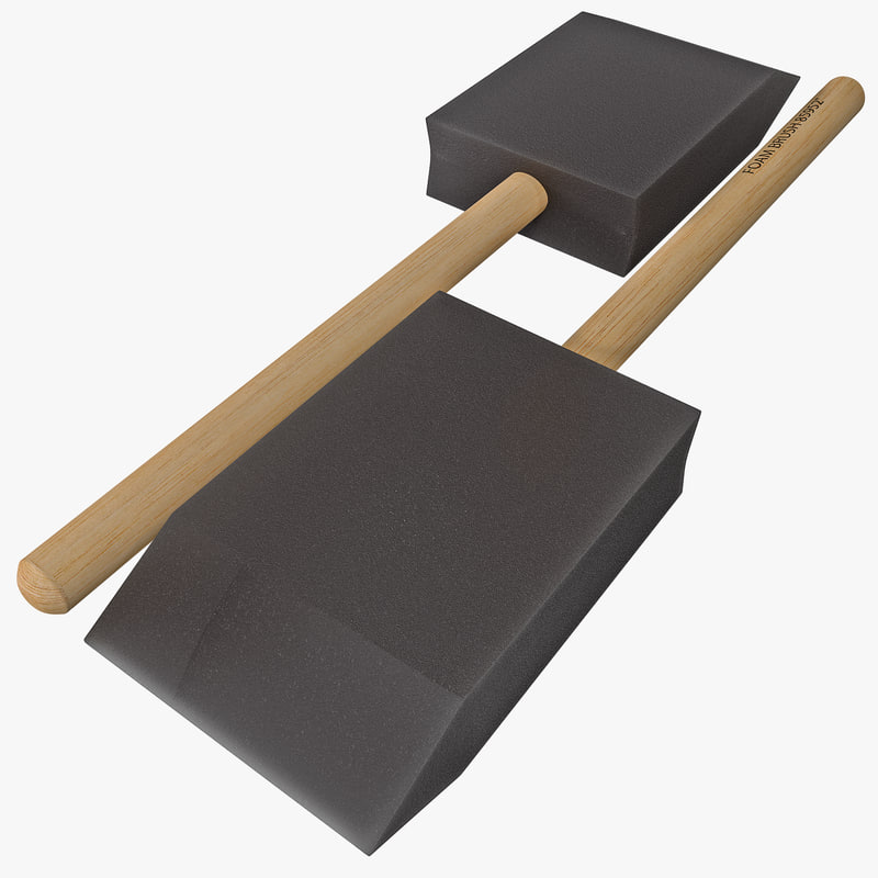 3ds foam brush
