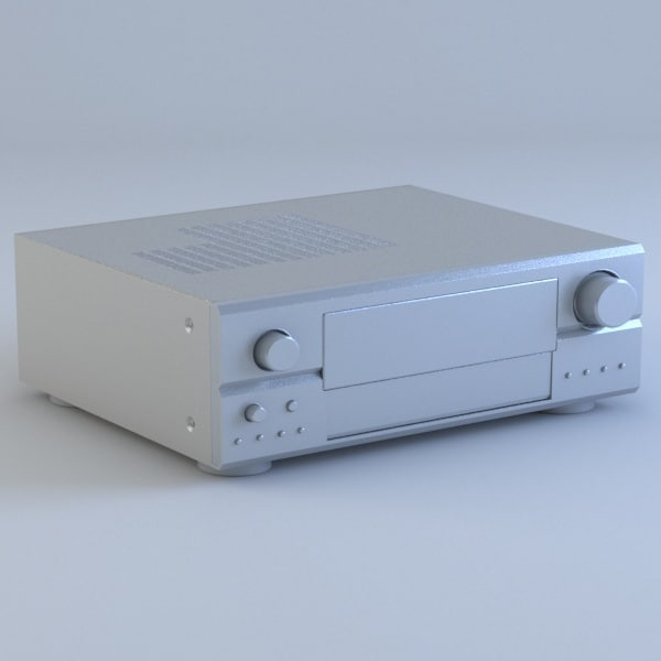 3d receiver stereo