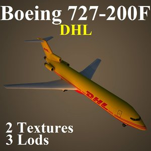 3d model boeing dhx