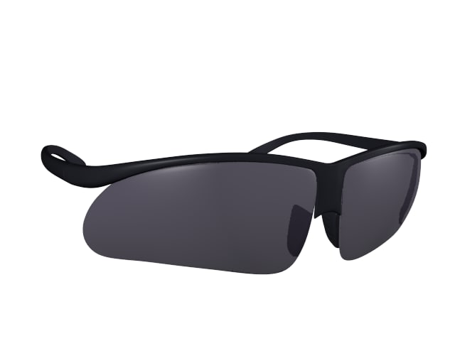 sun glass 3d 3ds
