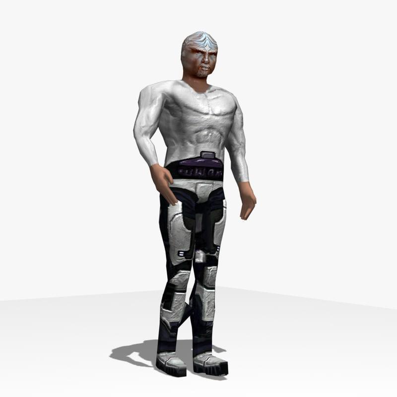 3d tomcomet guy model