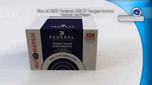 3d model box federal 22