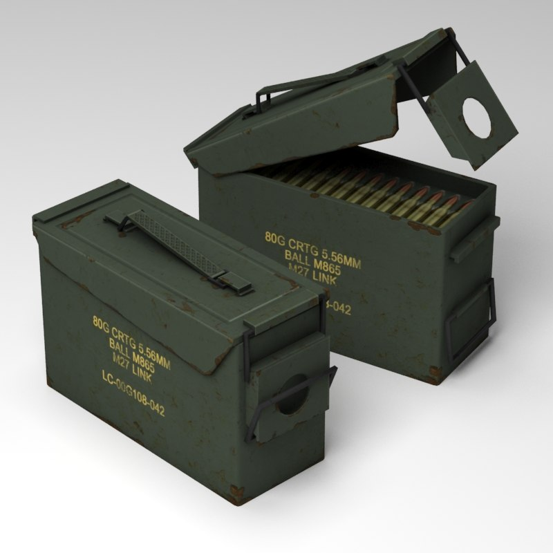 3d ammunition box