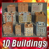 building collections 3d 3ds