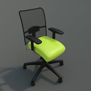 chair clean 3d 3ds