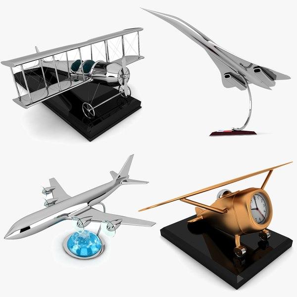 decorative airplane 3ds