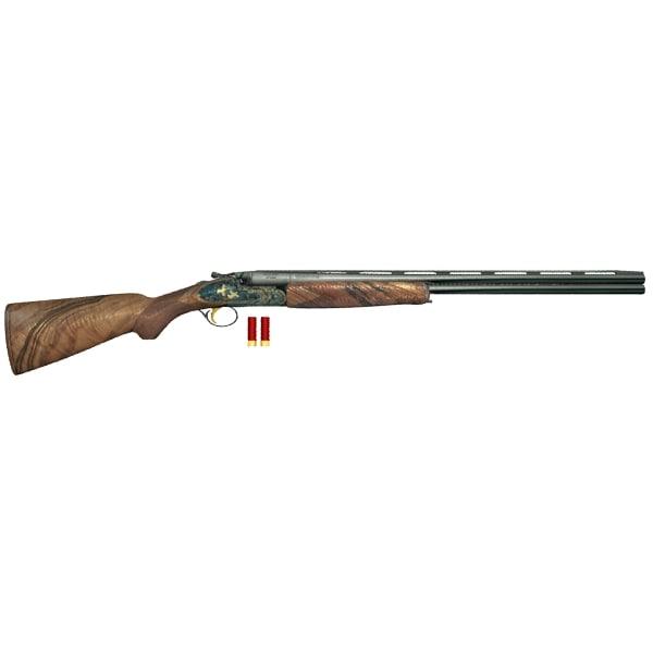 double barrel gun s 3d max