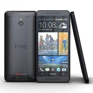 htc mini stealth black 3d model