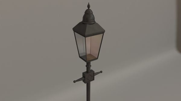 old street lamp max