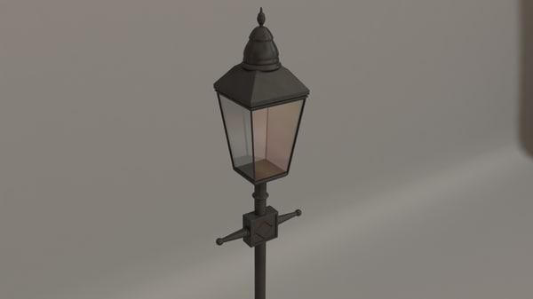 old street lamp max