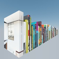 3d 90 books model