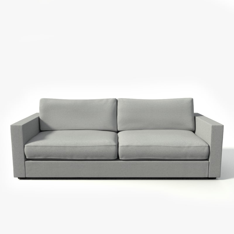 3dsmax modern couch