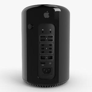 3d new mac pro 2013 model