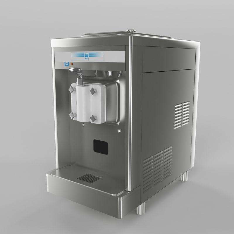 3d model ice cream maker
