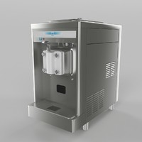 3d model ice cream maker