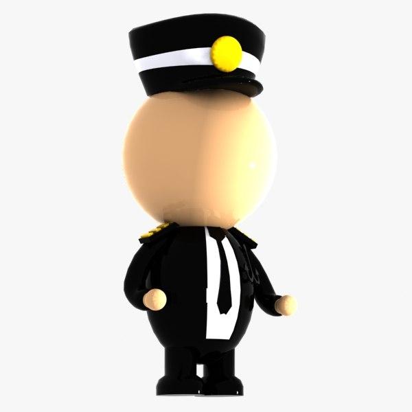 max pilot character