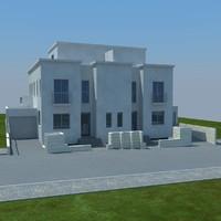 buildings 1 4 3d max