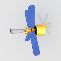 nasa s gravity probe 3d model