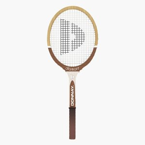 max donnay tennis racket