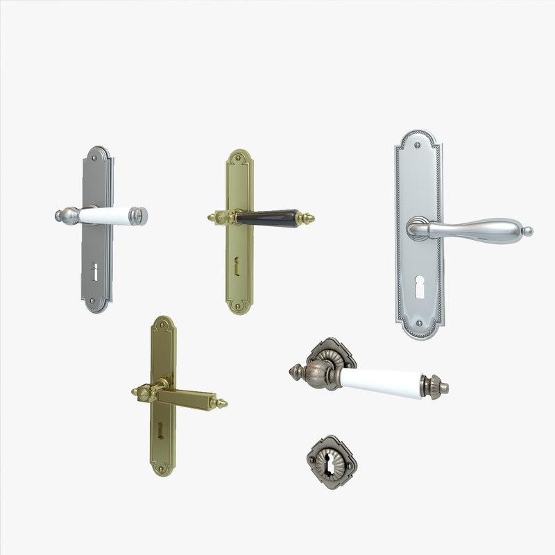 classic door handles max